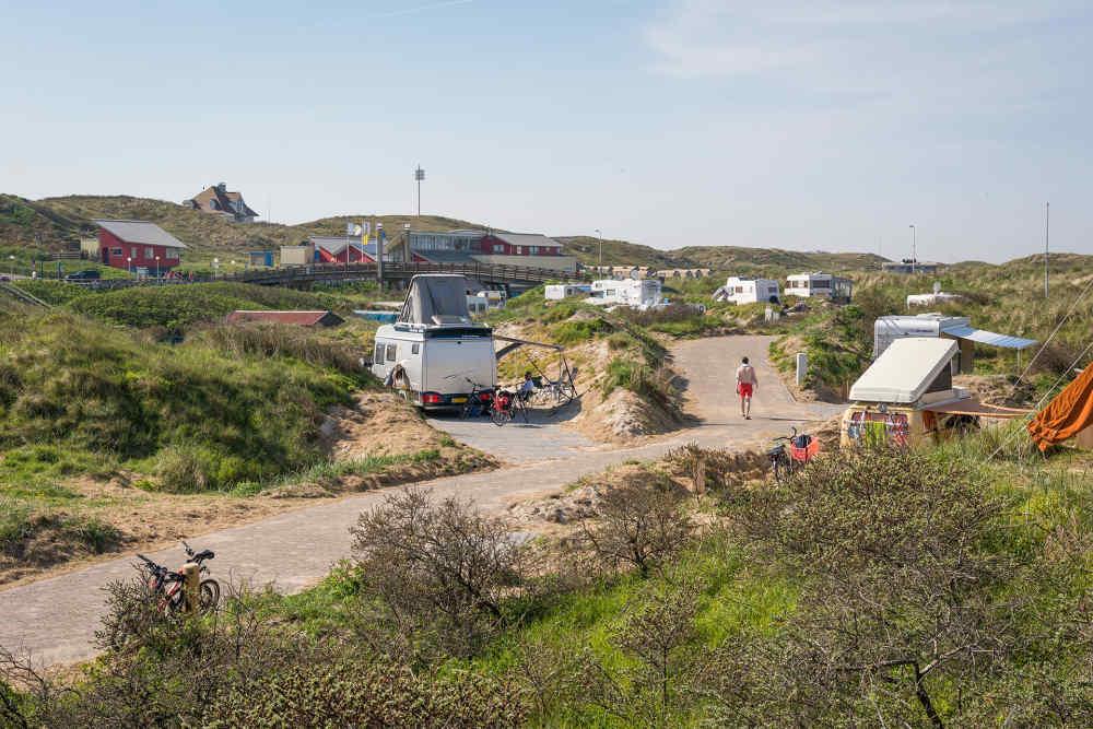 Camping Kogerstrand, camperplaatsen