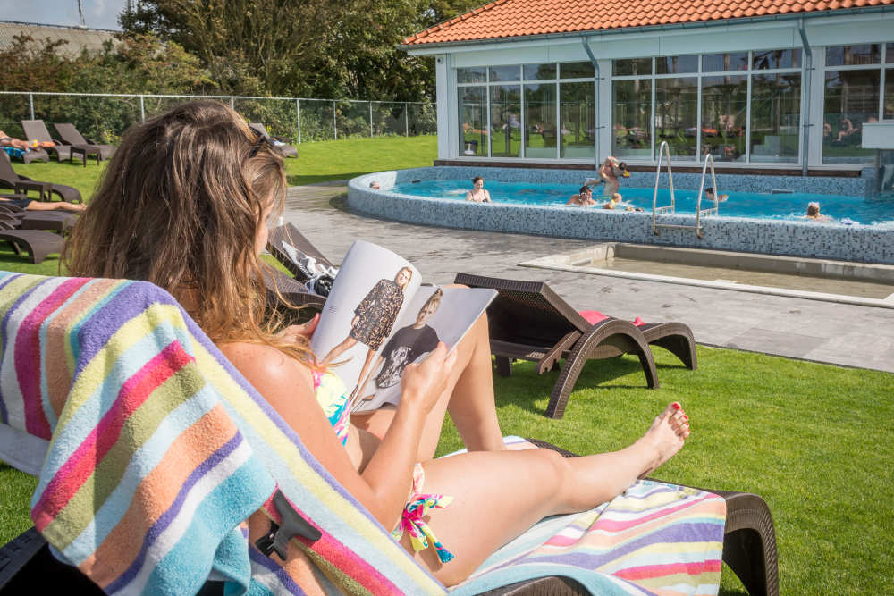 Holiday Park De Krim, sunbathing area