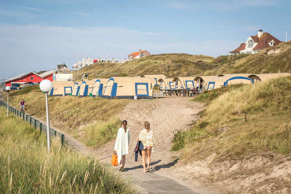 Camping Kogerstrand, furnished grouptents
