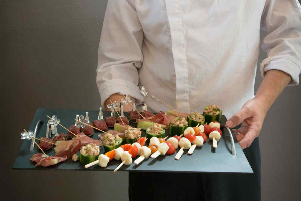 Event Halle, Catering