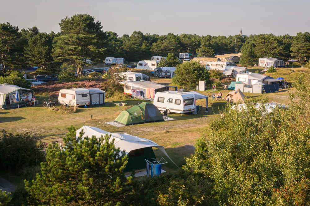 Camping Loodsmansduin, camping pitch with electricity
