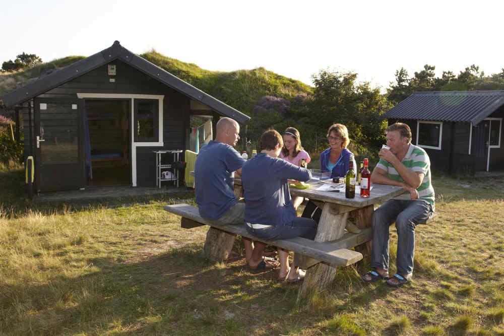 Camping Loodsmansduin, trekkershut