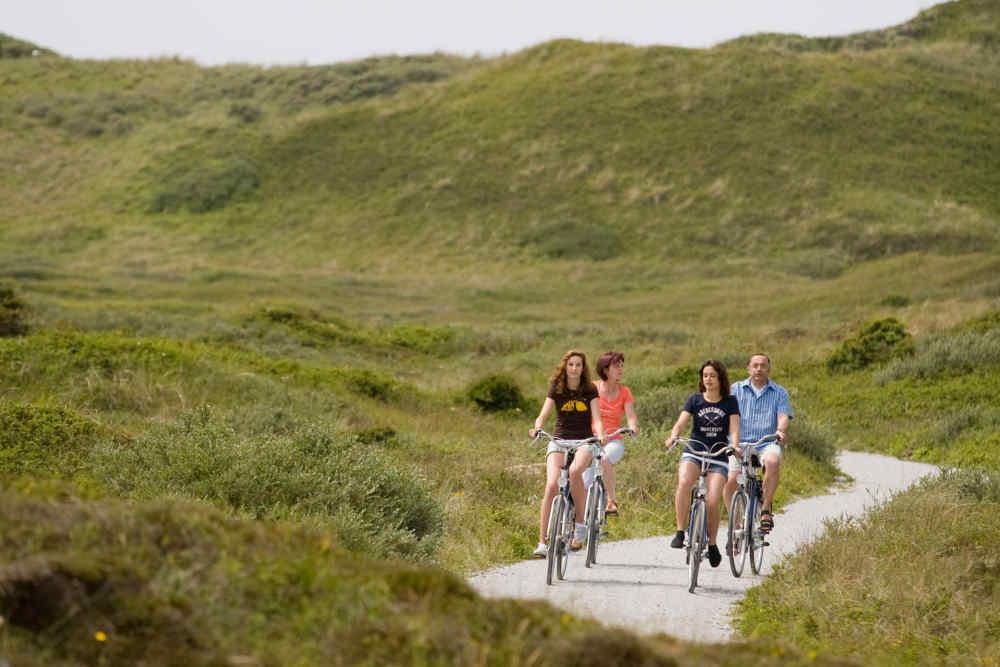 Dunes, cycling