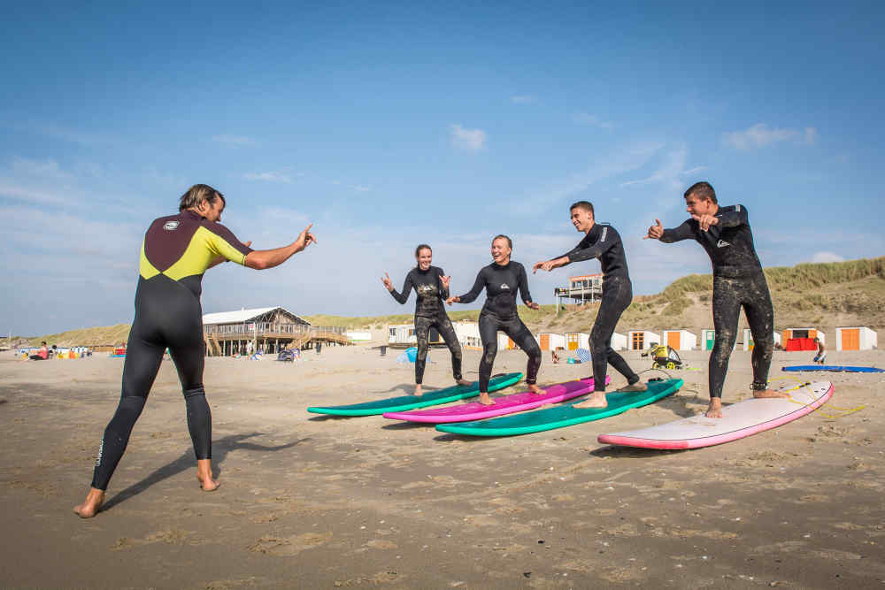 De Koog,  surfinglessons surfingschool Foamball