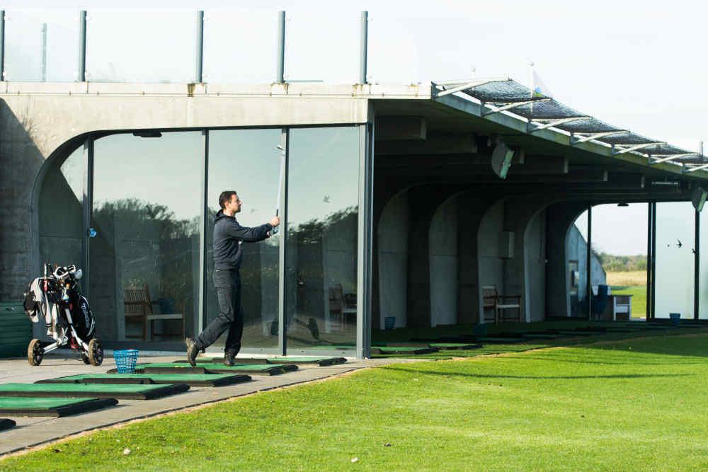 Golfbaan De Texelse, driving range