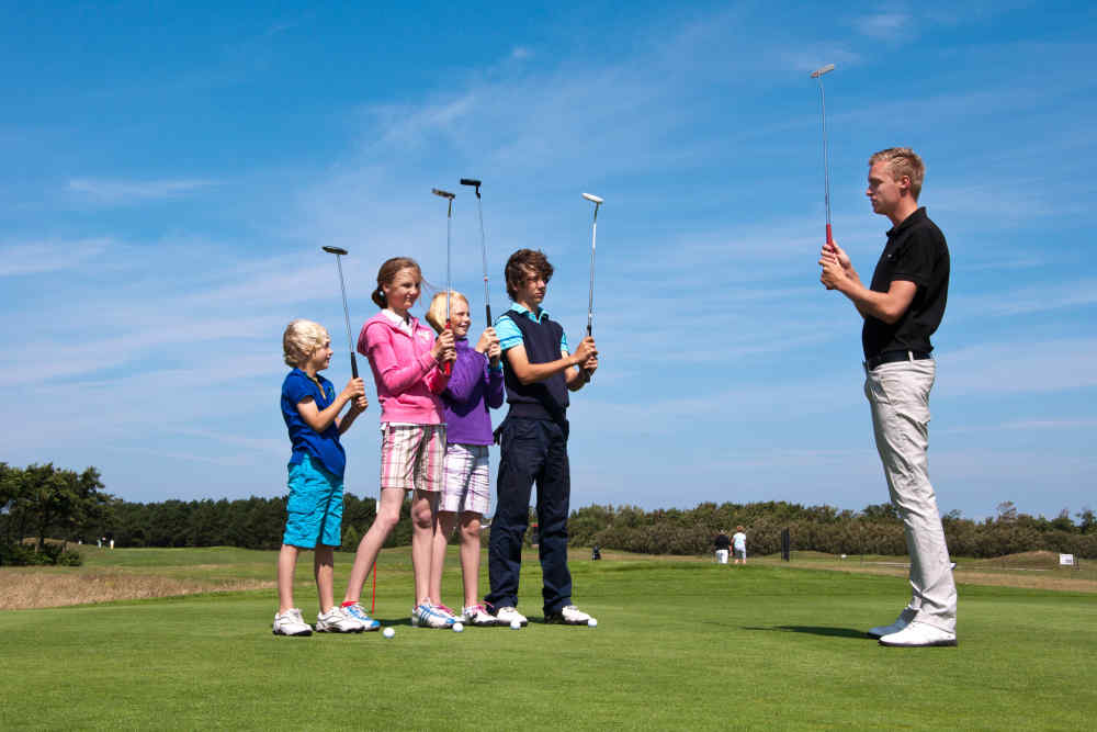 Golfbaan De Texelse, introductie les