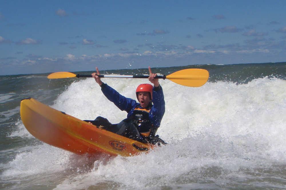 Surfen Kanufahren