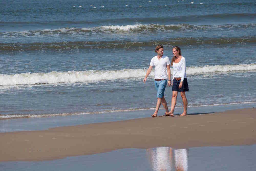Strand, wandelen