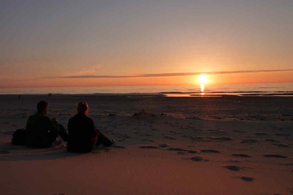 Fotoalbum romantisches Texel