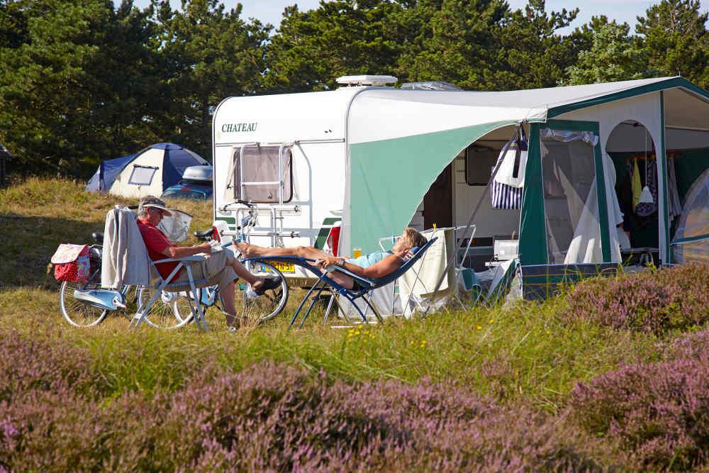 Camping Loodsmansduin, season pitch