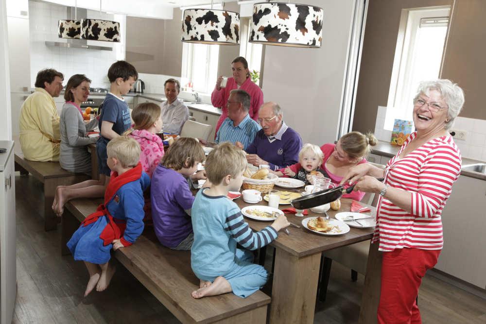Ferienpark De Krim, Familien Villa 20 Personen