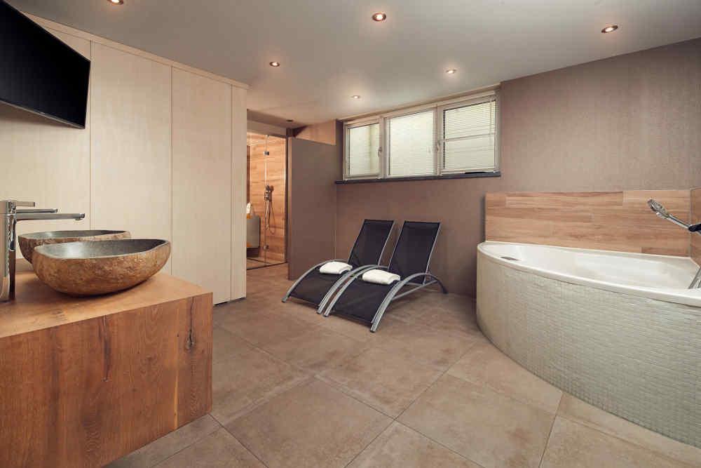 Bungalowpark 't Hoogelandt, luxe villa met wellnessruimte