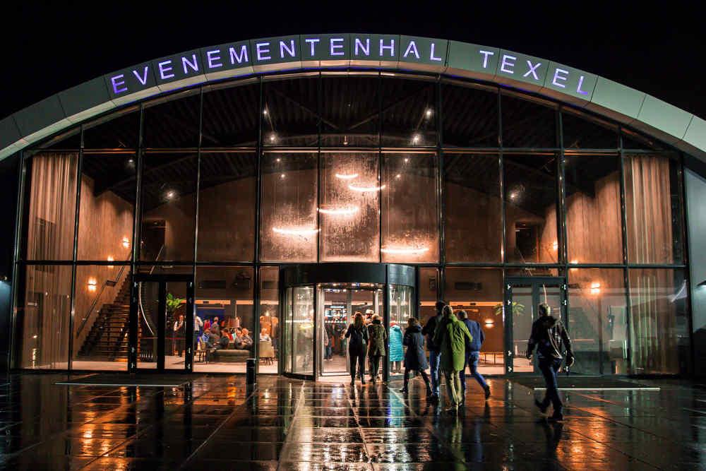 Evenementenhal Texel, entree