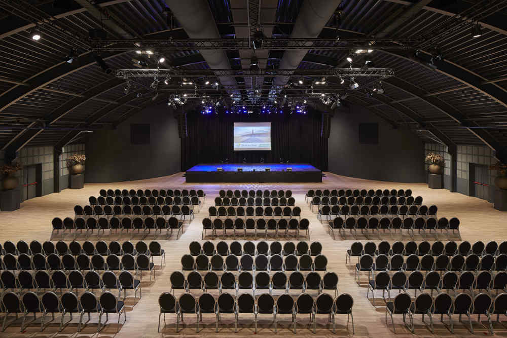 Evenementenhal Texel, congressopstelling
