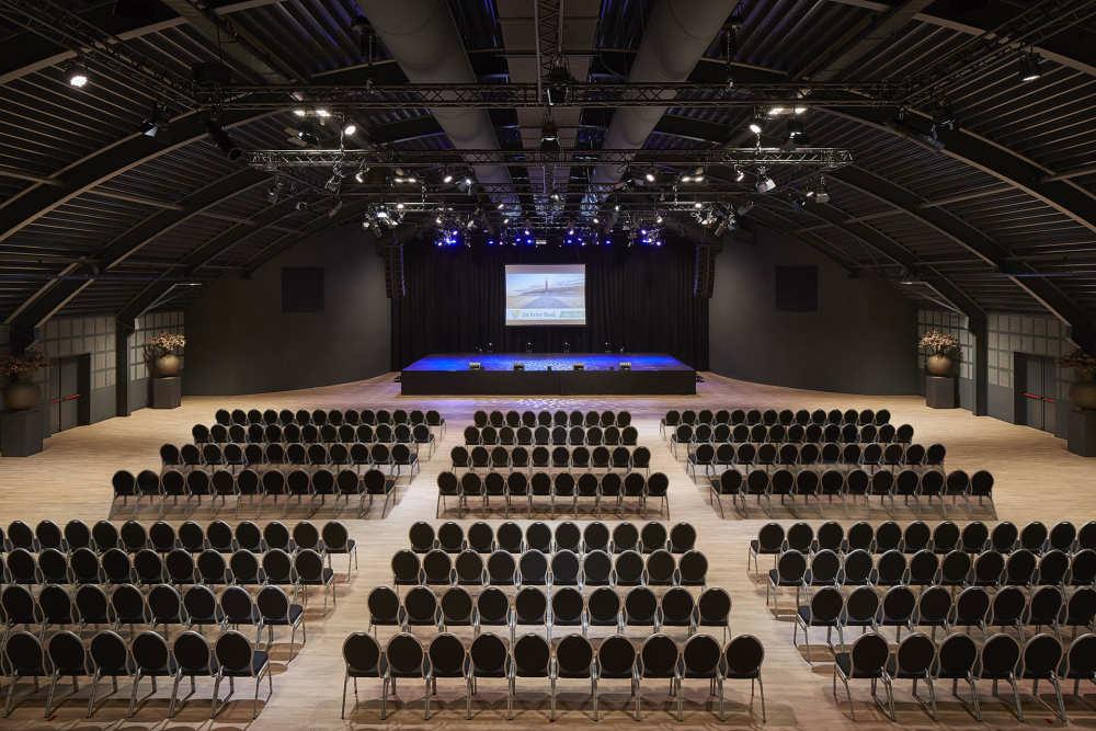 Congressopstelling, Evenementenhal Texel