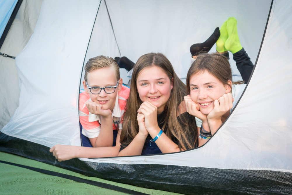 Camping De Krim, kleines Zelt