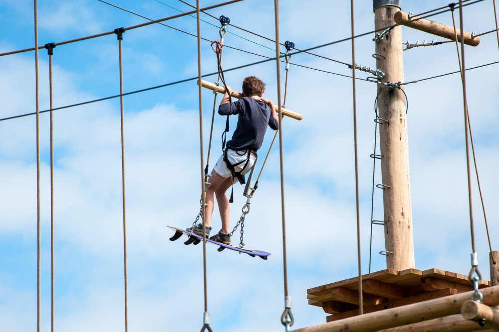 Climbing, Holiday park De Krim