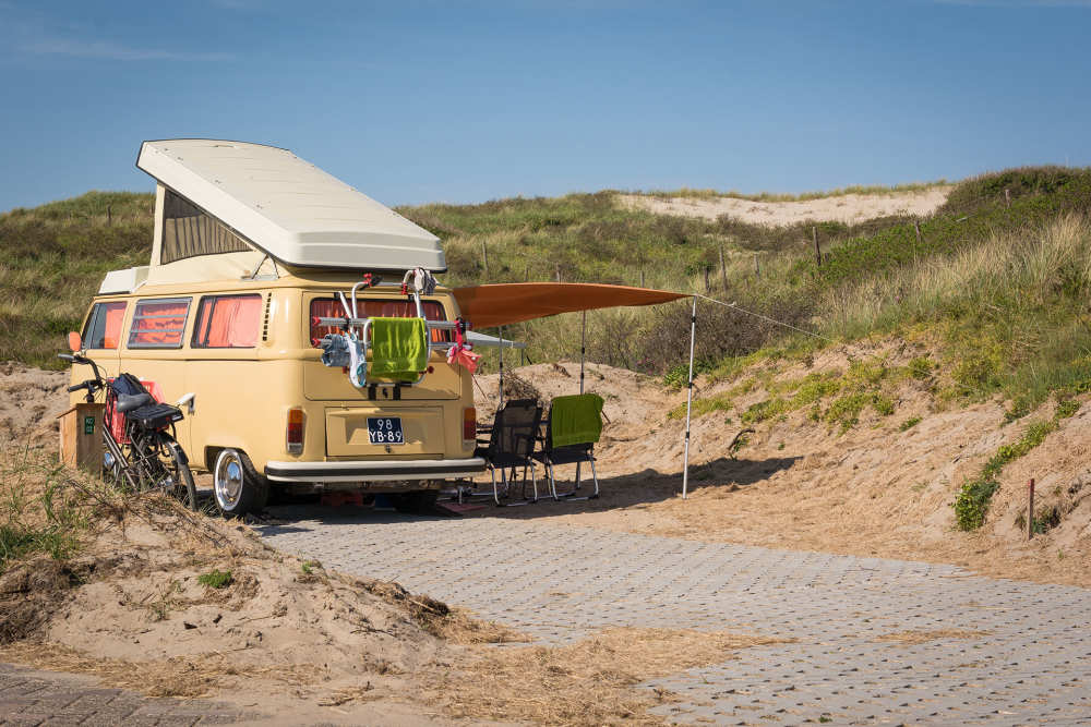 Camping Kogerstrand, camperpitch