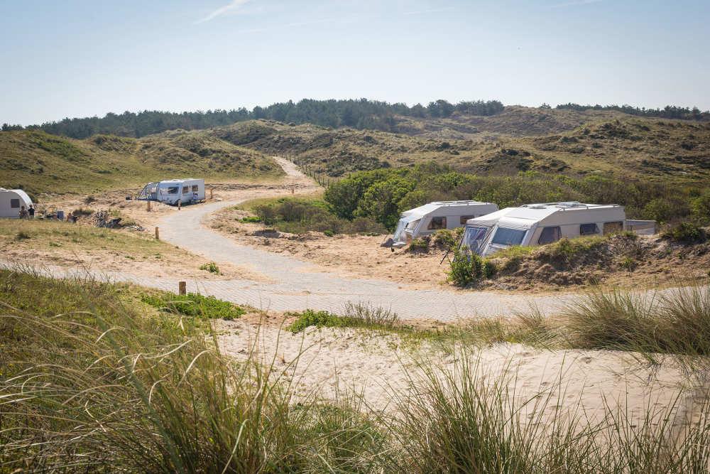 Camping Kogerstrand, kampeerplaats xxl met stroom