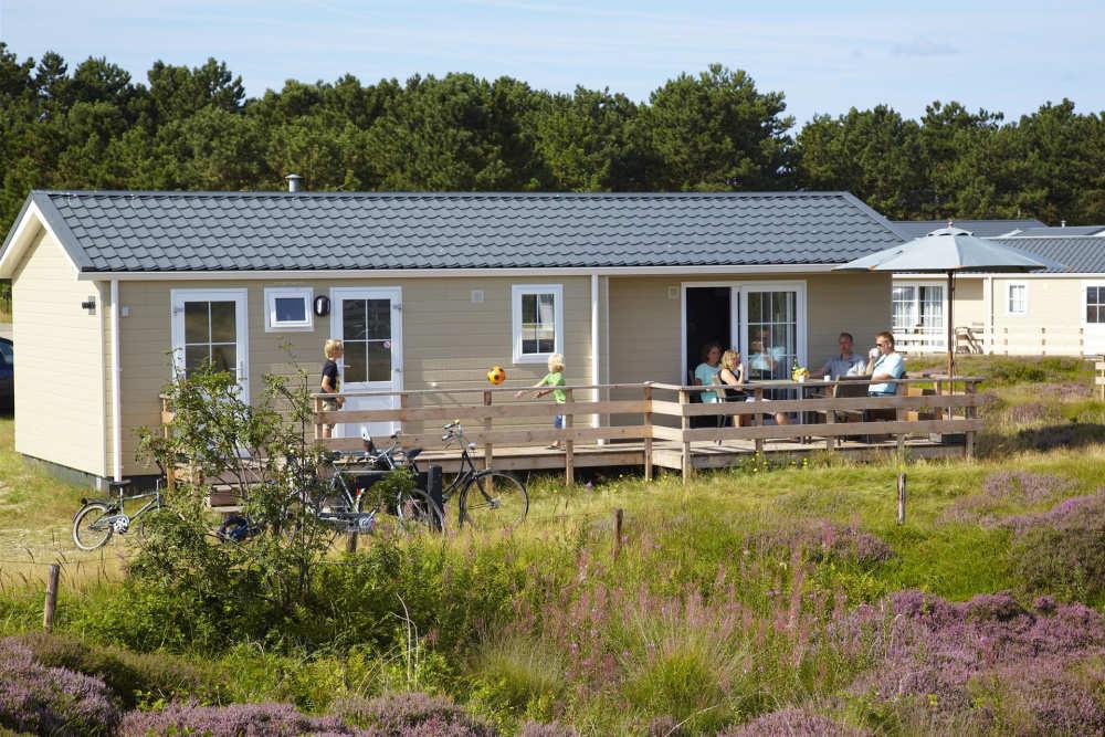 Chalet type De Hors op Camping Loodsmansduin