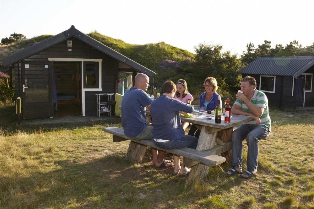 Camping Loodsmansduin, hiker's cabin