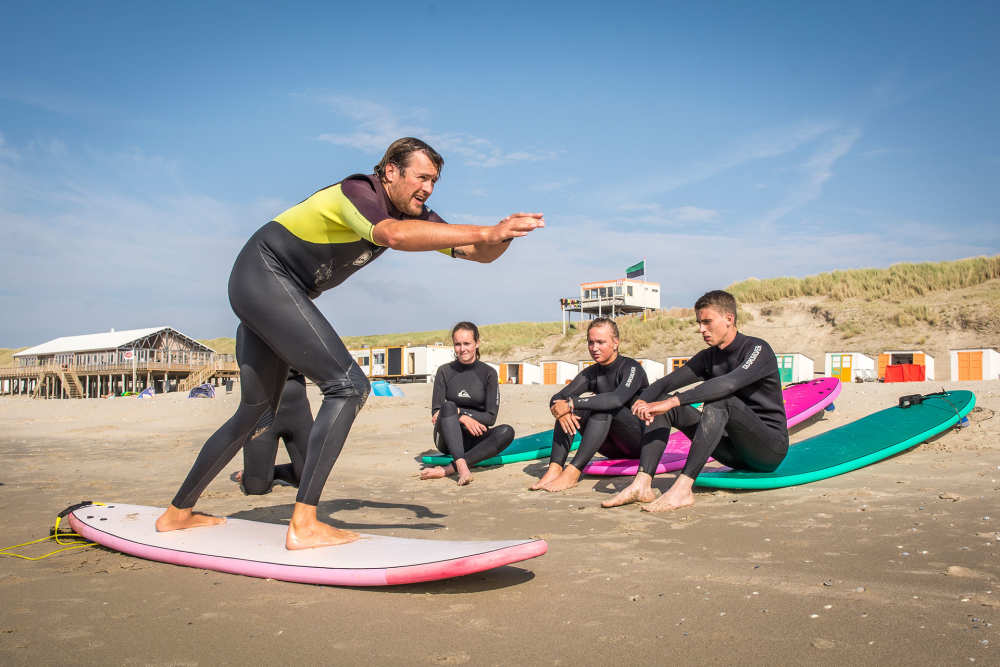 De Koog, surfles
