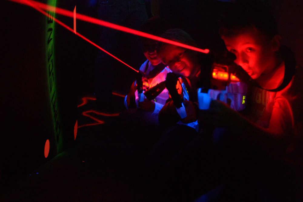 Vakantiepark De Krim, lasergame