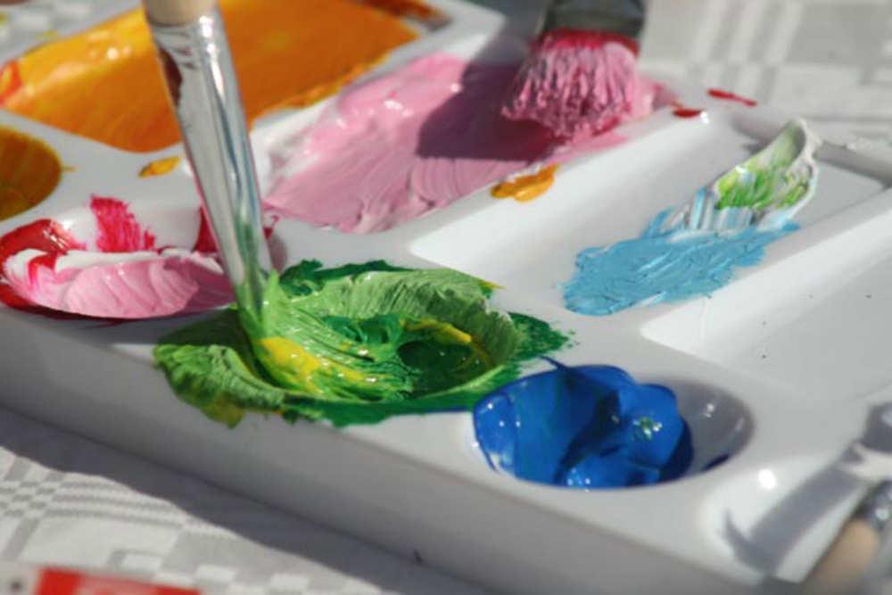 fotoalbum Texel schilderen