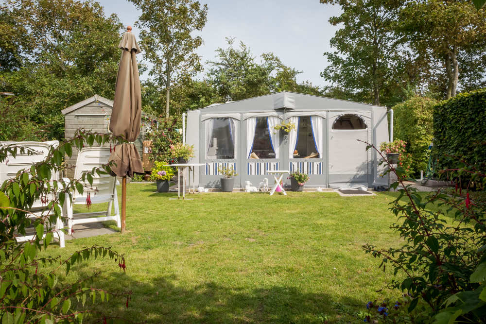 Camping De Krim, feste Plätze