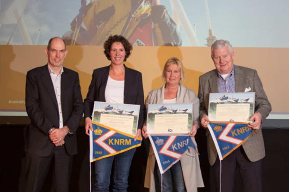 De Krim Texel ontvangt Gouden Wimpel KNRM