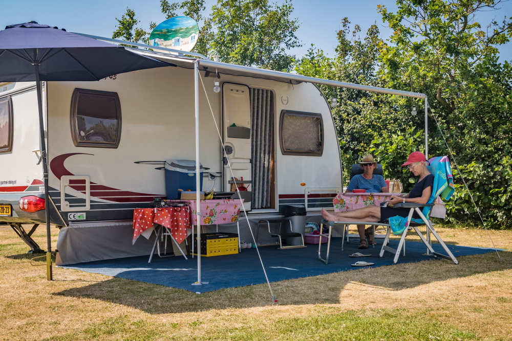 Camping De Shelter, comfort pitch