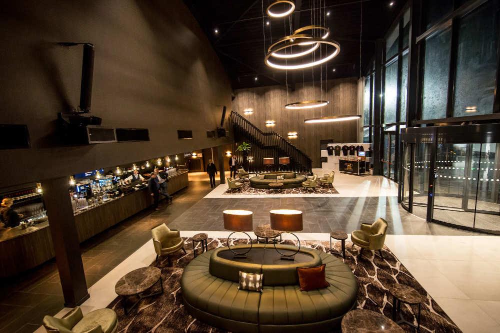 Foyer, Evenementenhal Texel