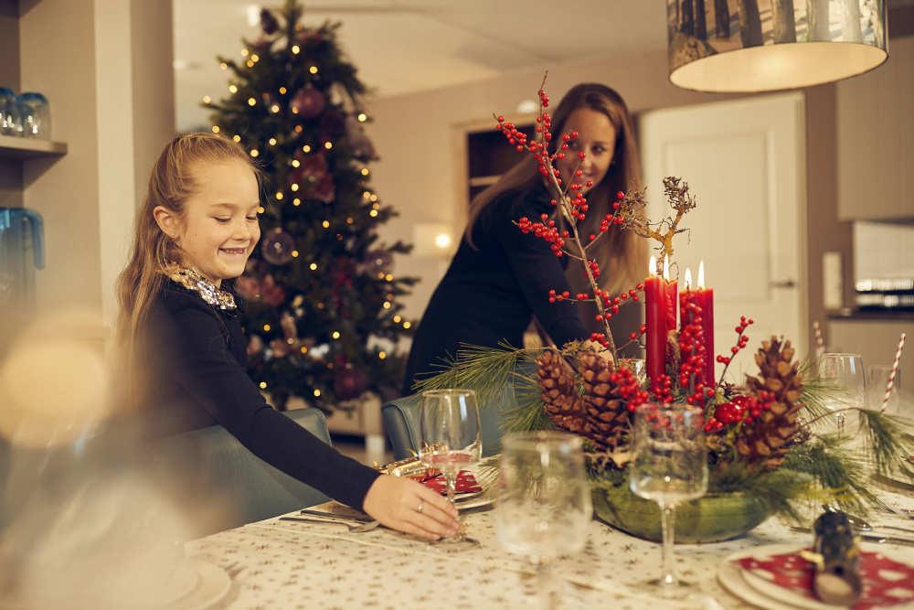 Kerst op Texel, kerstdiner