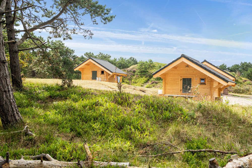 Camping Loodsmansduin, trekkershutten