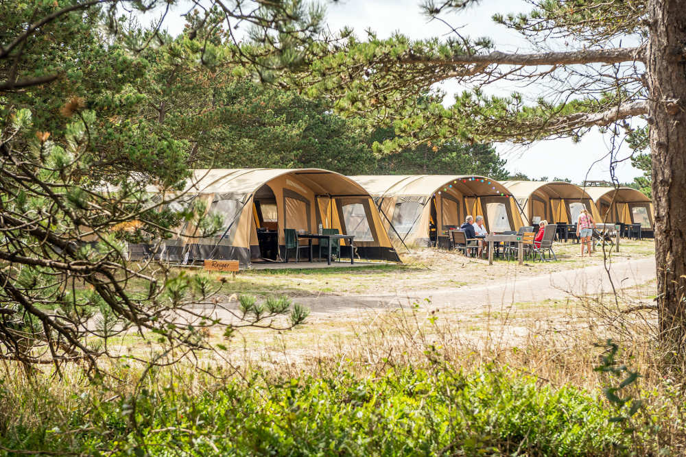 Camping Loodsmansduin, furnished tent