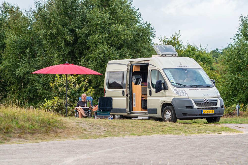 Camping Loodsmansduin, camperplaats