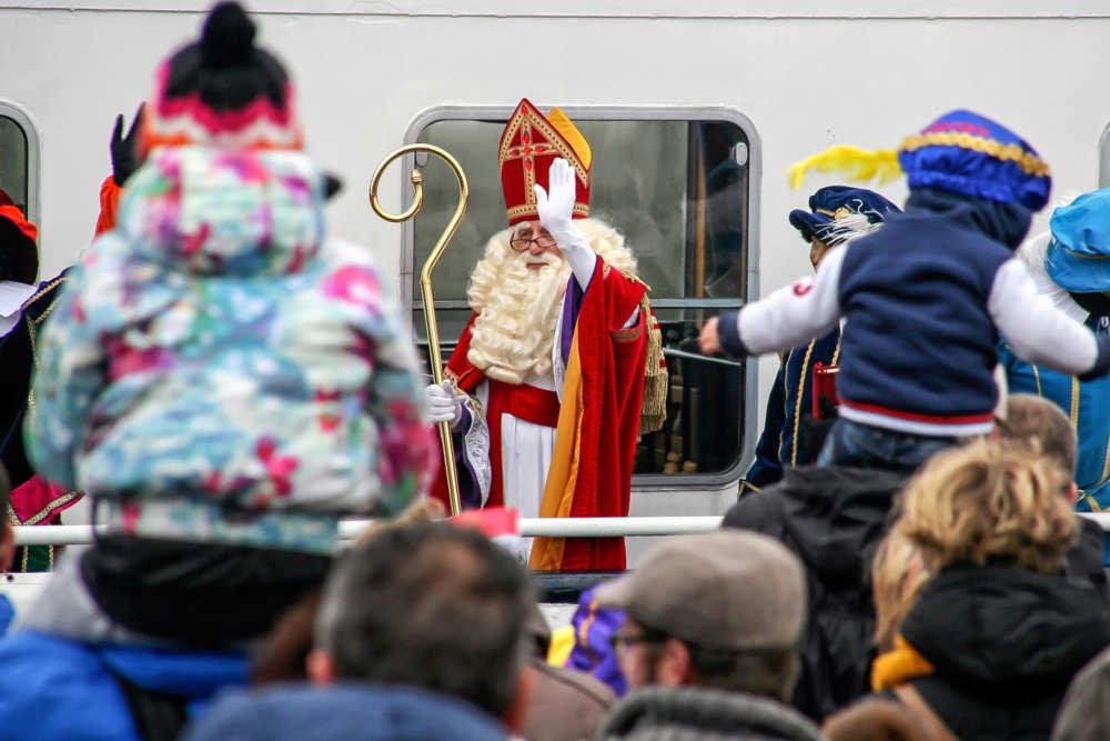 Oudeschild, entrance Sinterklaas