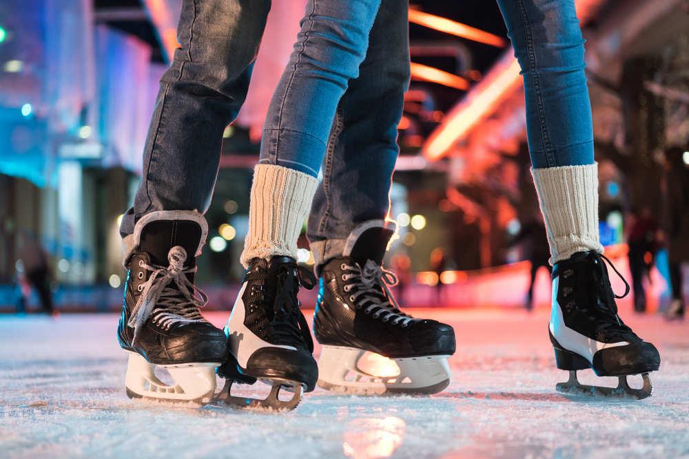 Evenementenhal Texel, schaatsbaan