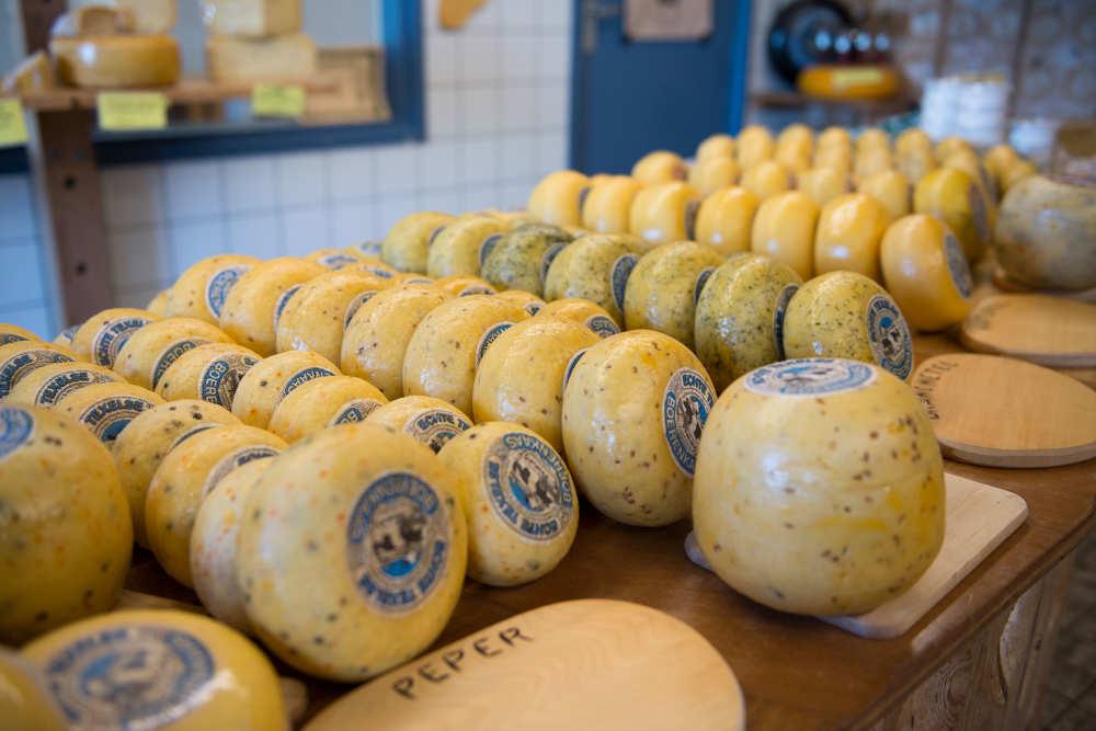 Cheese farm Wezenspyk, cheese, shop