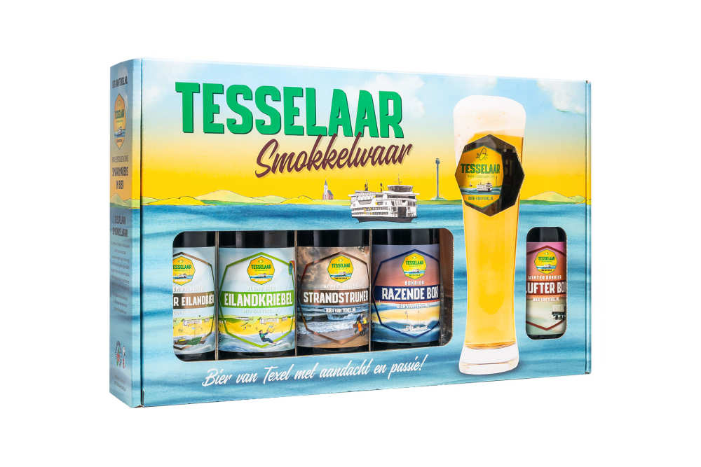 Beer from beer brewery Tesselaar
