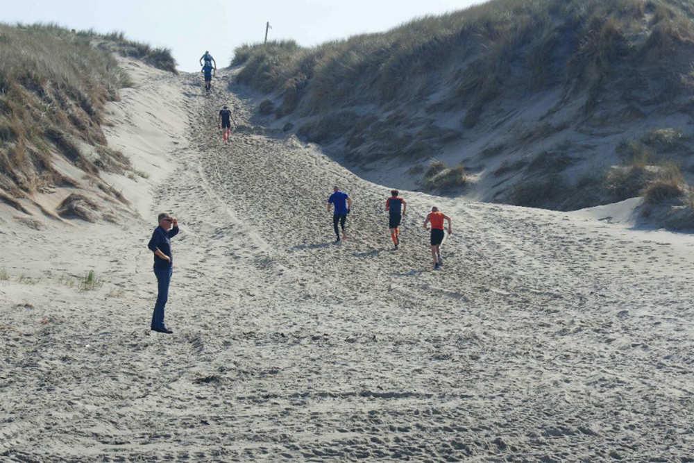 Dunes and beach, Zestig van Texel