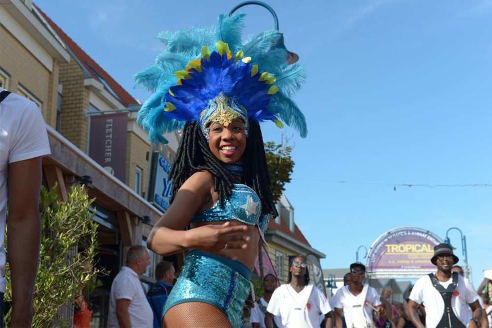 Dancer at the Tropical Sea Festival