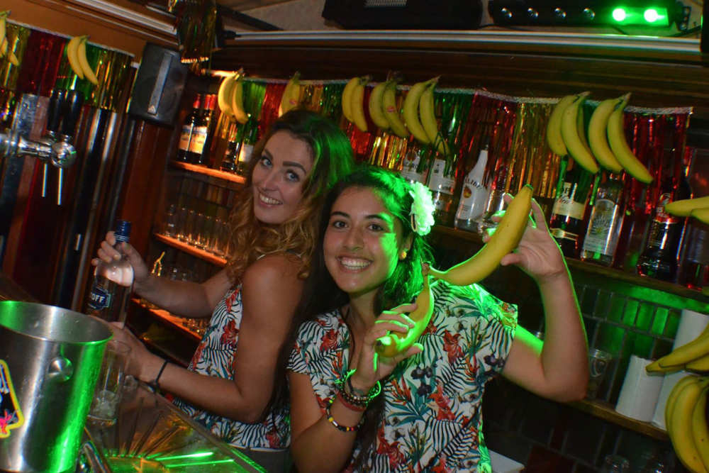 Bartenders at the Tropical Sea festival