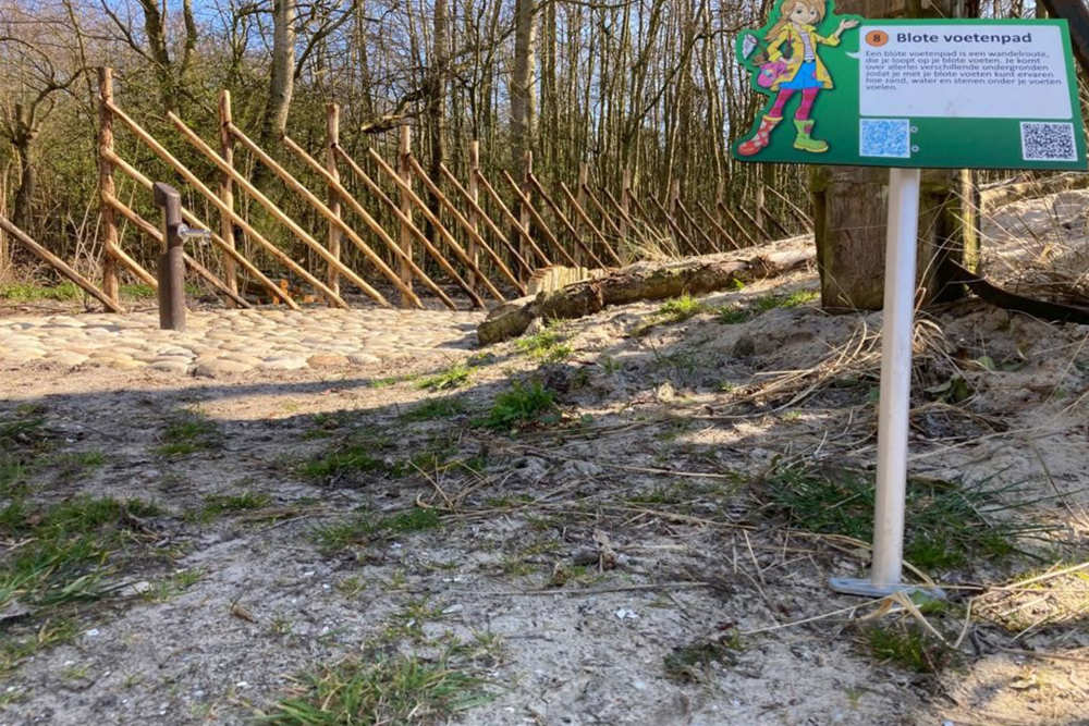 Holiday park De Krim, The Barefoot path