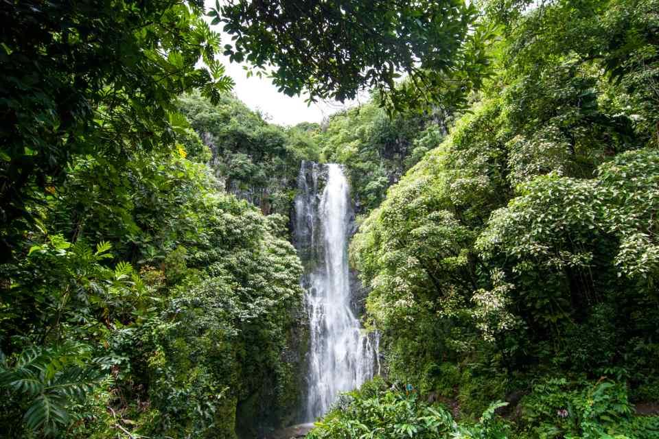 Maui Hawaiian Waterfall