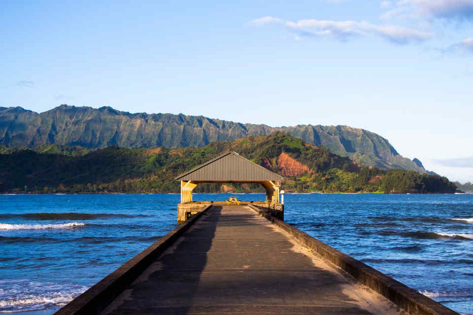 Kauai Destination Hanalei Bay Pier
