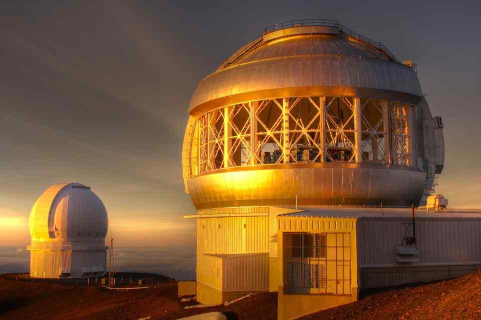 Big Island Mauna Kea Geminy Telescope