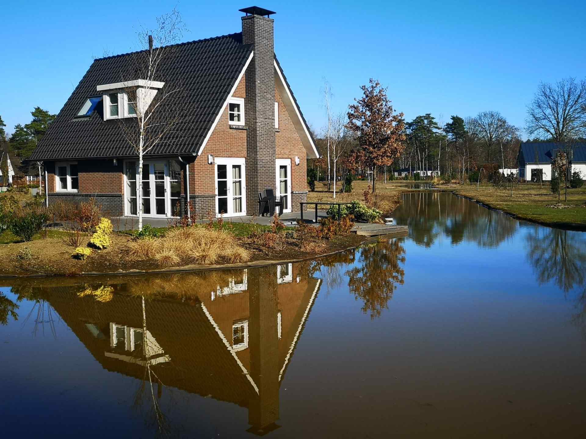 Villa at the water