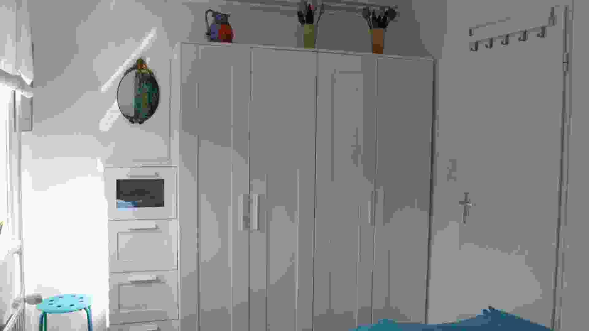Foto 10, slaapkamer met kasten