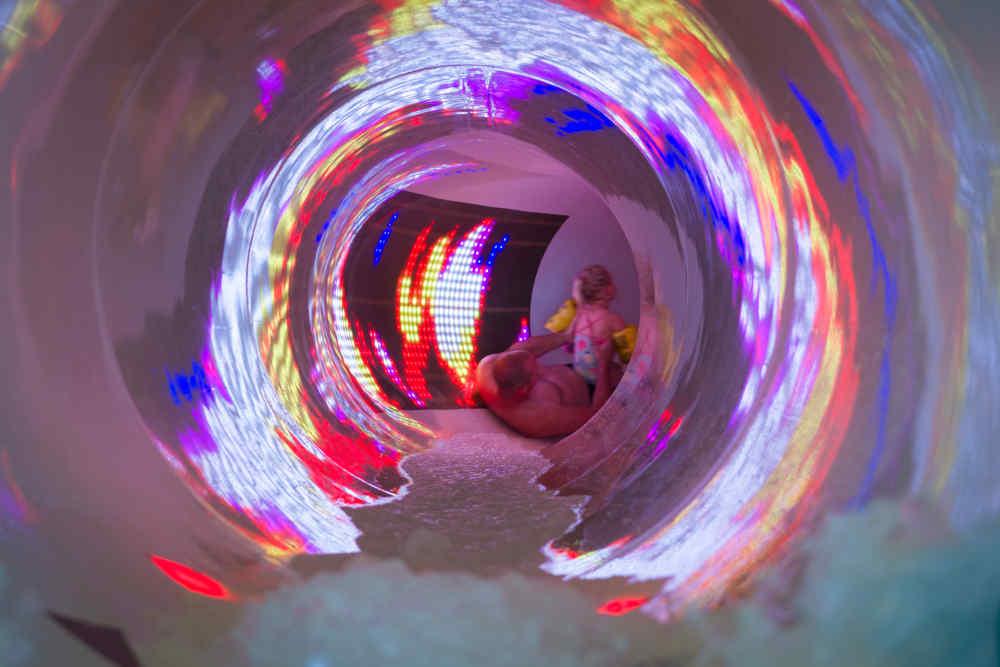 Vakantiepark De Krim, interactieve glijbaan